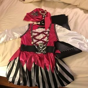 Other - Pirate costume for girl 3t