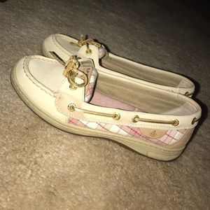 Sperry Top-Sider Shoes - Pink plaid sperry's