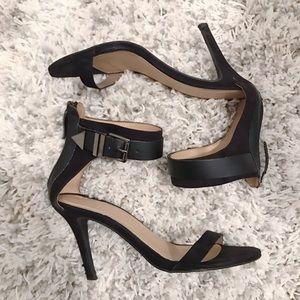 Zara Shoes - Zara black buckle strap heel