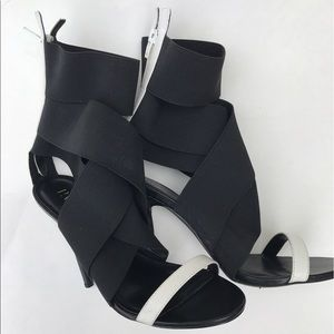 paper fox Shoes - Paper fox strapped heels