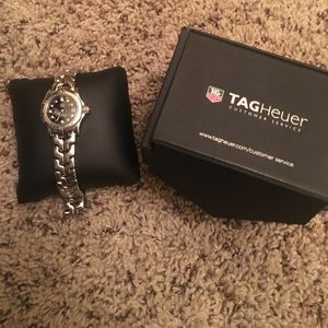Tag Heuer Accessories - Tag Heuer Ladies diamond link watch