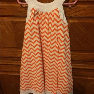 Toobydoo Other - Precious chevron dress