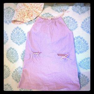 Bonpoint Other - Bonpoint sweet gingham dress and hat sz 8 sundress