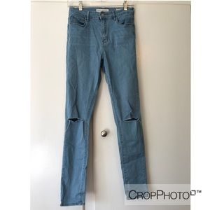 Size 27 high rise jeans
