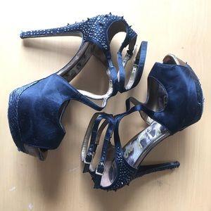 Sam Edelman Shoes - Sam Edelman Black Spike Heels