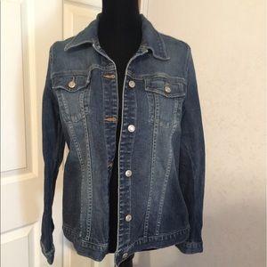 Old Navy Jackets & Blazers - Old Navy Maternity denim jacket size Medium.