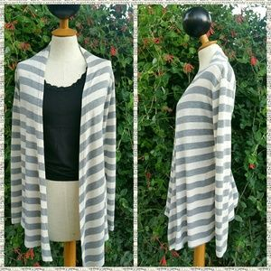 Rue 21 Striped Cardigan