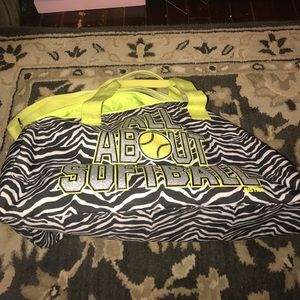 Justice Other - Girls Softball duffle bag