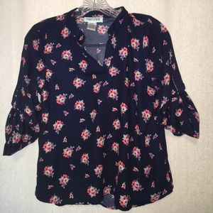 Mia Chica Tops - V neck blouse