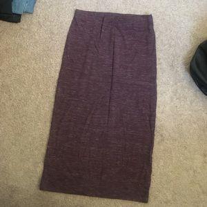Marled Zara Knit Jersey Skirt