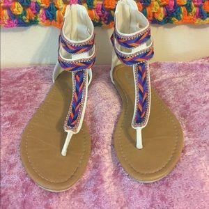 Alba Shoes - Multi color sandal