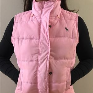 Abercrombie and Fitch Pink Vest