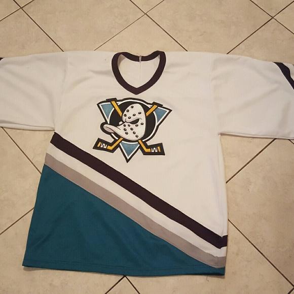 ccm Other - Vtg 90 s anieham mighty ducks jersey sz medium 449bd03c5f8