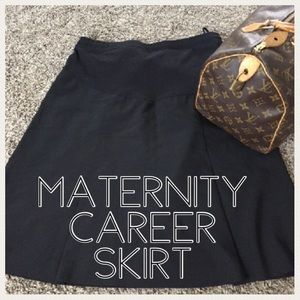 💕CLEARANCE💕Maternity pleated career skirt medium