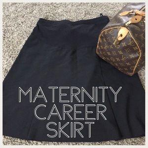 Motherhood Maternity Dresses & Skirts - 💕CLEARANCE💕Maternity pleated career skirt medium