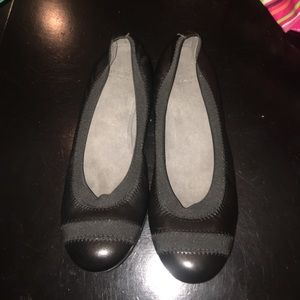 Stuart Weitzman Leather Flats