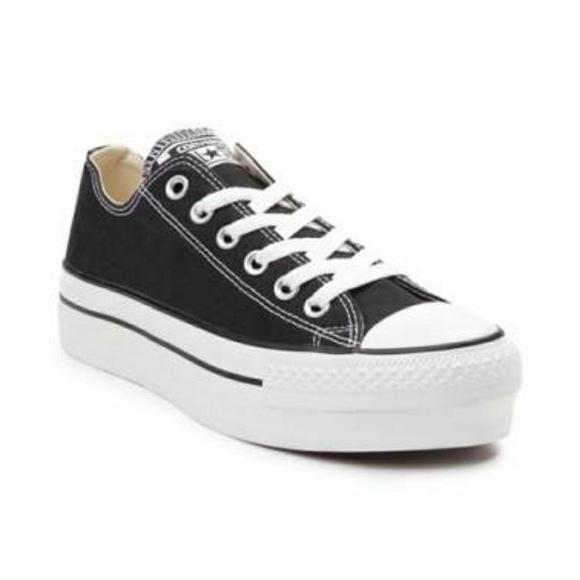 d225ebba605b Womens Converse All Star Lo Platform Sneaker NWT