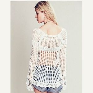 Free People Sweaters - Cream colored knitted Free People sweater