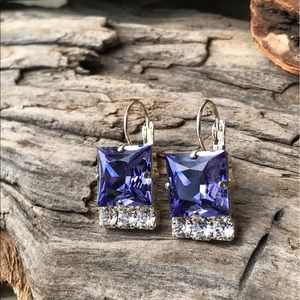 Jewelry - Handcrafted earrings with Swarovski crystal #183