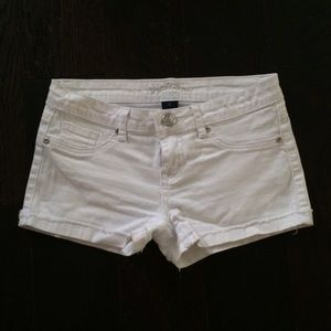 Reign Pants - Reign White Denim Shorts