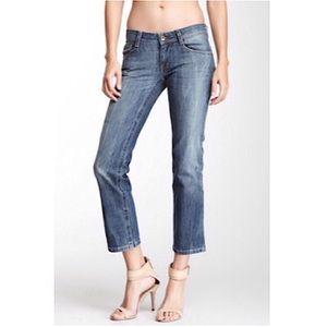 """DL1961 Denim - DL1961 """"Kyle"""" boyfriend distressed jeans 28"""