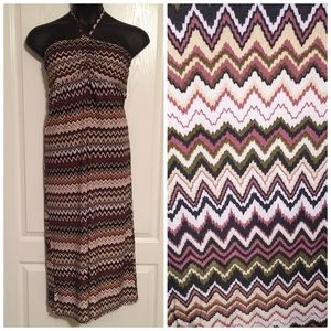 Christina Love Dresses & Skirts - •3/$23•Earthly Chevron Dress