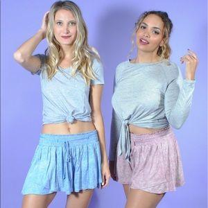 Pants - Joy Shorts- Blue