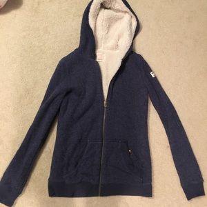 Quiksilver Tops - Quiksilver Fleece-Lined Sweatshirt