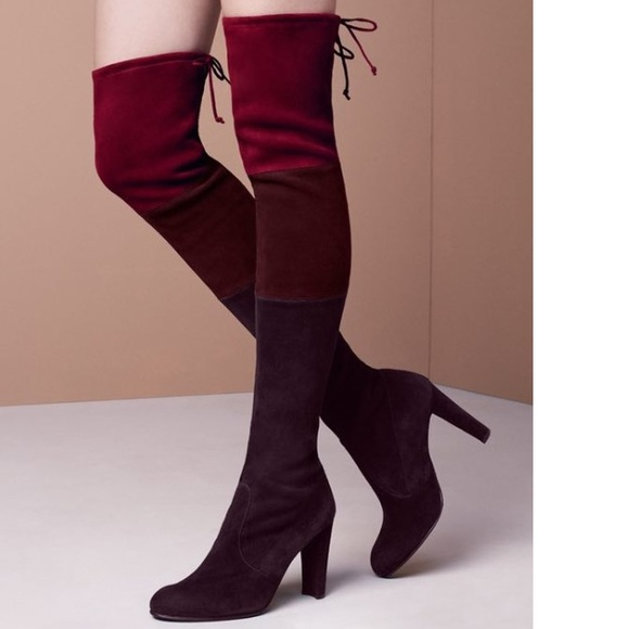 cheap sale professional Stuart Weitzman Colorblock Knee-High Boots discount good selling fFvYgv