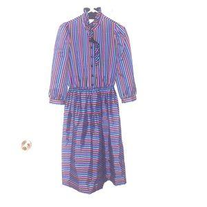 Leslie Fay Dresses & Skirts - Vintage Leslie Fay M Dress 80's