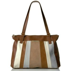 Relic Handbags - ✨PRICE DROP✨ Patchwork Striped Shoulder Bag NWT