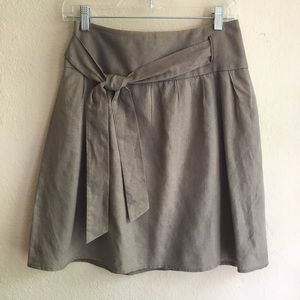 The Limited Dresses & Skirts - The Limited Linen Blend Skirt