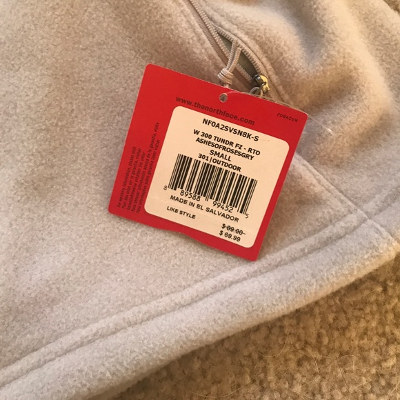 The North Face Jackets & Coats - The north face grey fleece jacket Small