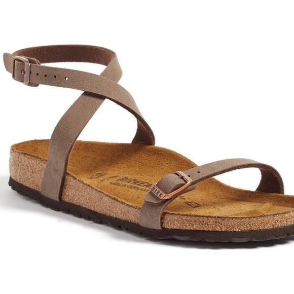 082113e92e2 Birkenstock Shoes - Birkenstock Daloa Birko flor strappy sandals 37 6