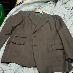 Other - Richman Brothers Tailored Pure Virgin Wool Suit