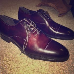 Fratelli Rossetti Other - Fratelli Rossetti hand-painted napa-cap toe shoes