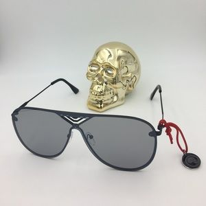 sunglasses Other - ON SALE!!! xl black smokey aviator