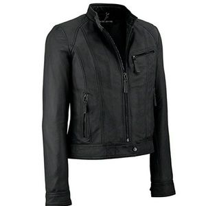 Wilsons Leather Jackets & Blazers - WILSONS leather black jacket (never worn)