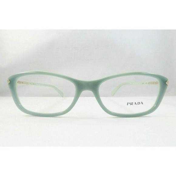 8d7484792ee New Opal green Prada eyeglasses.