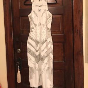 Alice McCall Dresses & Skirts - White maxi size 0 Alice McCall 'paint it black'