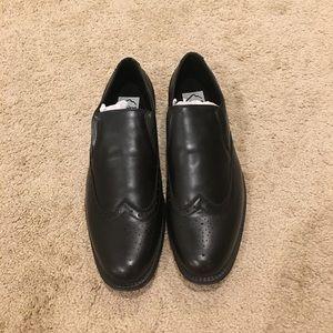 Alpine Swiss Other - Alpine Swiss Men's black dress shoes