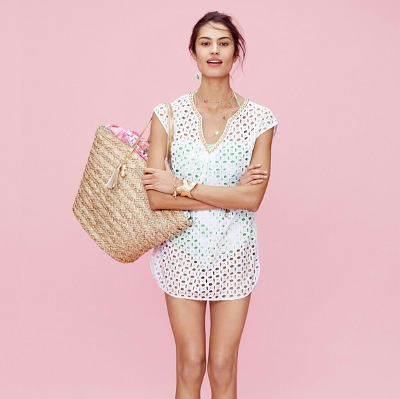 Lilly Pulitzer Swim - Lilly Pulitzer Classic Eyelet Tunic Cover-up