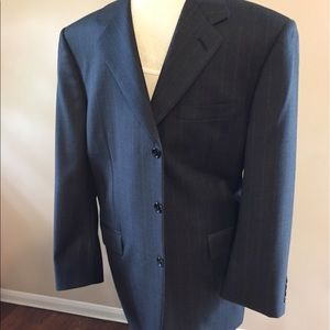 Canali Other - Canali suit with light pin stripes