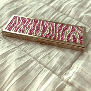 Judith Leiber Other - Pink Crystal Compact Mirror- Judith Leiber/Target