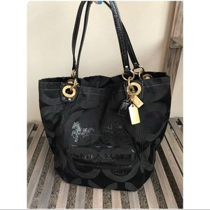 Coach :: Limited Edition Tote :: Black