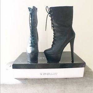 Sophia & Lee Shoes - Shin boots