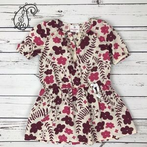 Hanna Andersson Other - Hanna Andersson 100 Floral Tunic Top US 4t