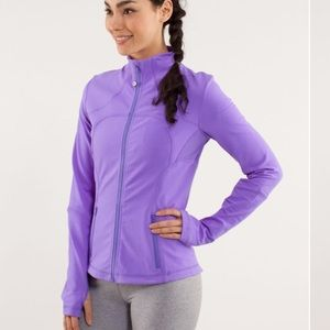 lululemon athletica Jackets & Blazers - Lululemon Forme Jacket Power Purple