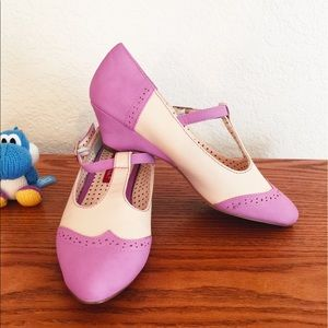 B.A.I.T. Mary Janes in Lavender