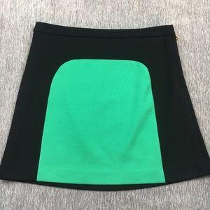 Vivienne Tam Dresses & Skirts - Vivienne Tam Mod Retro Colorblock Mini Black Skirt